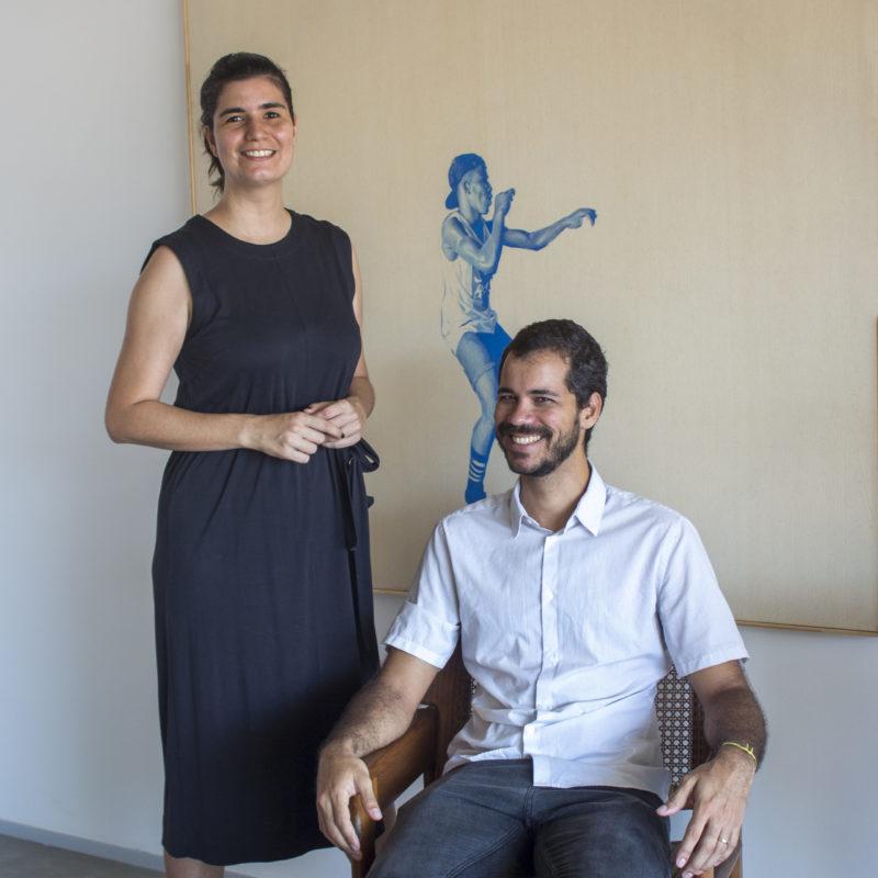 Larissa Martina e Ilan Iglesias